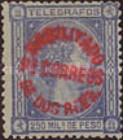 [Telegraph Stamps Surcharged & Overprinted