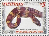 [Chinese New Year - Year of the Snake, Typ YOA]