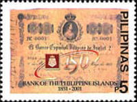 [The 150th Anniversary of Philippines Bank, Typ YOF]