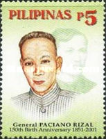 [The 150th Anniversary of the Birth of General Paciano Rizal, 1851-1930, Typ YOQ]
