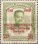 [The 200th Anniversary of Diego Silang Revolt - Issue of 1952 Overprinted