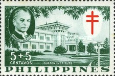 [Tax for the Philippine Tuberculosis Society - Manuel Quezon & the Quezon Institute, Typ A]