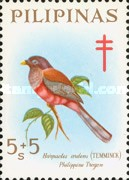 [Tax for the Philippine Tuberculosis Society - Birds, Typ L]
