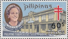 [Tax for the Philippine Tuberculosis Society - Stamps of 1970 & 1974 Surcharged, Typ R1]