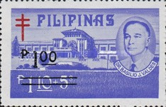 [Tax for the Philippine Tuberculosis Society - Stamps of 1970 & 1974 Surcharged, type W3]