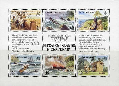 [The 200th Anniversary of the Pitcairn Island Settlement, type ]