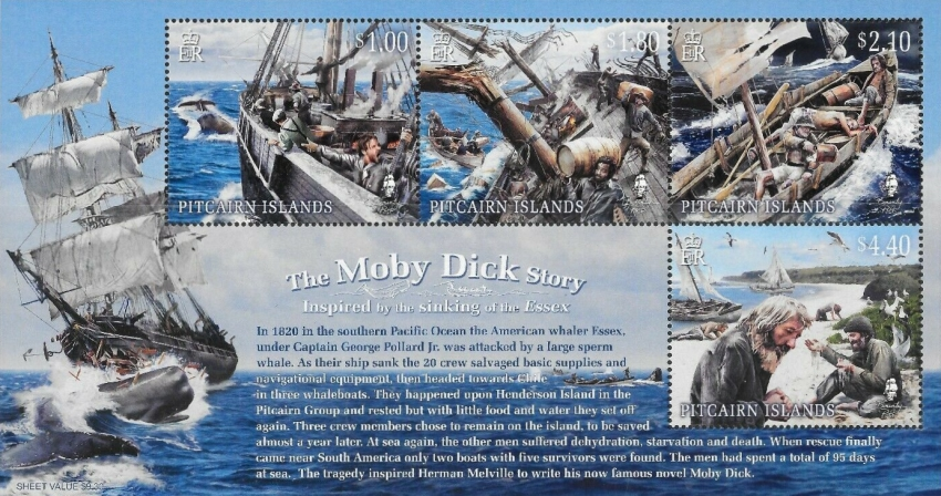 [Sinking of the Essex - The 200th Anniversary of Henderson Island's Moby Dick Story, Typ ]