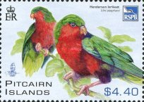 [Rare Birds of Henderson Island, type AFB]