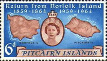 [The 100th Anniversary of the Return of Pitcairn Islanders, Typ AG]