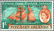 [The 100th Anniversary of the Return of Pitcairn Islanders, Typ AH]