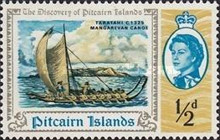 [The 200th Anniversary of the Discovery of Pitcairn Islands, type BO]