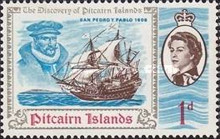 [The 200th Anniversary of the Discovery of Pitcairn Islands, type BP]