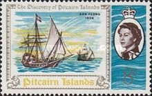 [The 200th Anniversary of the Discovery of Pitcairn Islands, type BQ]