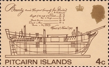 [Views of Pitcairn and Items of H.M.S.