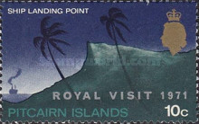 [Royal Visit - Issue of 1969 Overprinted