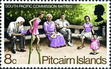 [The 25th Anniversary of the South Pacific Commission, type DT]