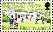 [The 25th Anniversary of the South Pacific Commission, type DU]