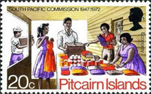 [The 25th Anniversary of the South Pacific Commission, type DV]