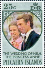 [Royal Wedding of Princess Anne and Captain Mark Phillips, type EF]