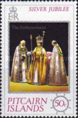 [The 25th Anniversary of the Reign of Queen Elizabeth II, type FF]