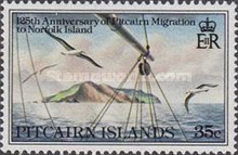 [The 125th Anniversary of Pitcairn Islanders' Migration to Norfolk Islands, type GY]