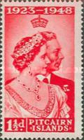 [The 25th Anniversary of the Wedding of King George VI and Queen Elizabeth, type M]