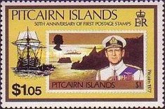 [The 50th Anniversary of the Pitcairn Islands Stamps, type NA]