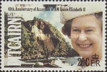 [The 40th Anniversary of the Accession of Queen Elizabeth II, type OA]