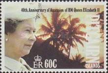 [The 40th Anniversary of the Accession of Queen Elizabeth II, type OB]