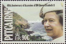 [The 40th Anniversary of the Accession of Queen Elizabeth II, type OC]