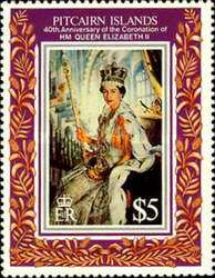 [The 40th Anniversary of the Coronation of Queen Elizabeth II, type OV]