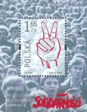 [The 20th Anniversary of the Solidarity Movement, type ]