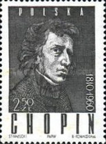 [The 150th Anniversary of the Birth of Frédéric Chopin, type ACO]