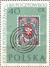 [The 100th Anniversary of Polish Stamps, type ACP]