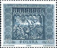 [Sections of the Great Altar in Saint Mary's Church in Kraków, Sculptured by Veit Stoss (Polish name: Wit Stwosz), type ADR]