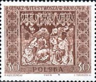 [Sections of the Great Altar in Saint Mary's Church in Kraków, Sculptured by Veit Stoss (Polish name: Wit Stwosz), type ADS]