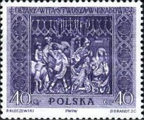 [Sections of the Great Altar in Saint Mary's Church in Kraków, Sculptured by Veit Stoss (Polish name: Wit Stwosz), type ADT]