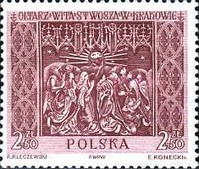 [Sections of the Great Altar in Saint Mary's Church in Kraków, Sculptured by Veit Stoss (Polish name: Wit Stwosz), type ADV]