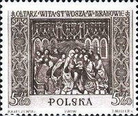 [Sections of the Great Altar in Saint Mary's Church in Kraków, Sculptured by Veit Stoss (Polish name: Wit Stwosz), type ADW]