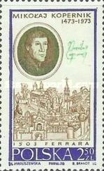 [The Life and Activities of Mikolaj Kopernik (Copernicus) commemorating the 500th Anniversary of the Birth of Mikolaj Kopernik in 1473, type BHW]