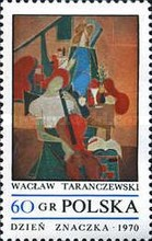 [The Day of the Stamp: Contemporary Polish Painting, type BIO]