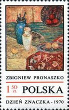 [The Day of the Stamp: Contemporary Polish Painting, type BIP]