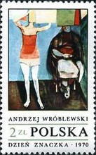 [The Day of the Stamp: Contemporary Polish Painting, type BIQ]