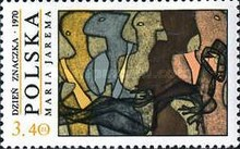 [The Day of the Stamp: Contemporary Polish Painting, type BIR]