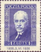 [The 10th Anniversary of the Presidency of Ignacy Moscicki, 1867-1946, type CD2]