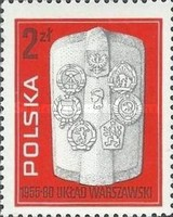 [The 25th Anniversary of the Warsaw Pact, type CHN]