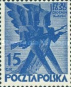 [The 100th Anniversary of Polish November Uprising 1830, type CJ1]