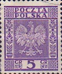 [Coat of Arms of Poland - Vertical Lines in Background, type CL]