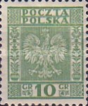 [Coat of Arms of Poland - Vertical Lines in Background, type CL1]