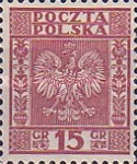 [Coat of Arms of Poland - Vertical Lines in Background, type CL2]